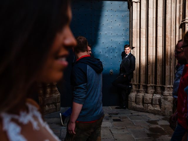 La boda de Marc y Naiara en Sant Fost De Campsentelles, Barcelona 52