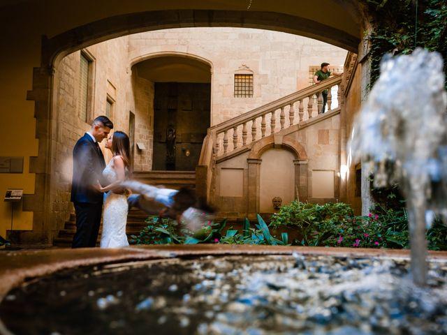 La boda de Marc y Naiara en Sant Fost De Campsentelles, Barcelona 57