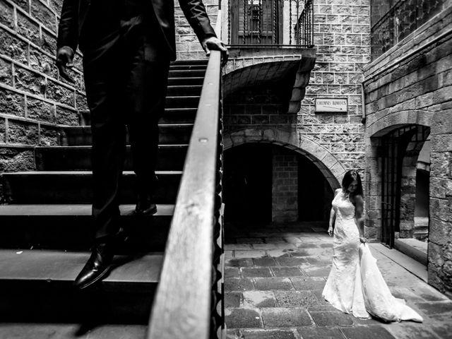 La boda de Marc y Naiara en Sant Fost De Campsentelles, Barcelona 62