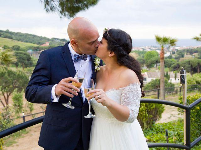 La boda de David y Lucía en Alella, Barcelona 1