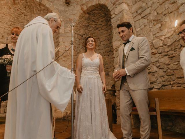 La boda de Albert y Jennifer en Sant Bartomeu Del Grau, Barcelona 37