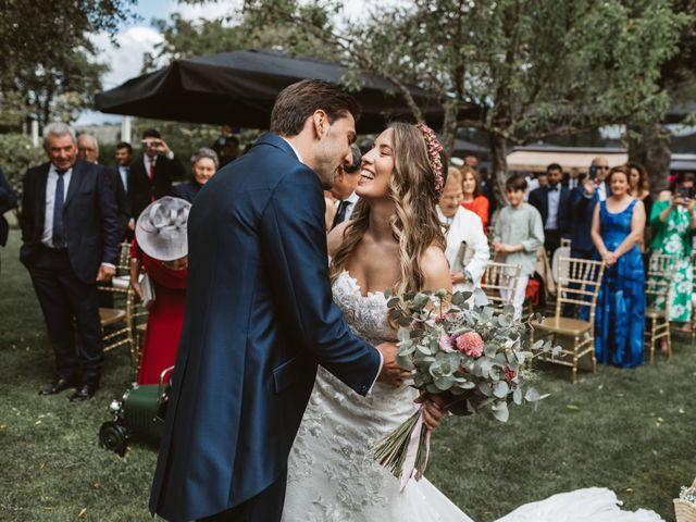 La boda de Gabriel y Alba en O Carballiño, Orense 44
