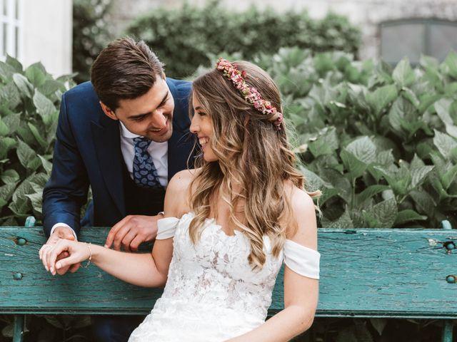 La boda de Gabriel y Alba en O Carballiño, Orense 1