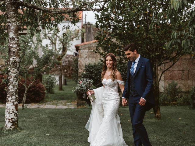La boda de Gabriel y Alba en O Carballiño, Orense 71