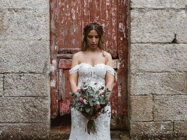 La boda de Gabriel y Alba en O Carballiño, Orense 78