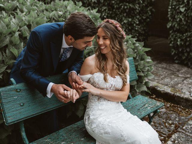 La boda de Gabriel y Alba en O Carballiño, Orense 91