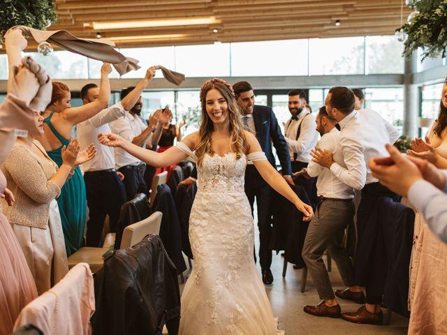 La boda de Gabriel y Alba en O Carballiño, Orense 105