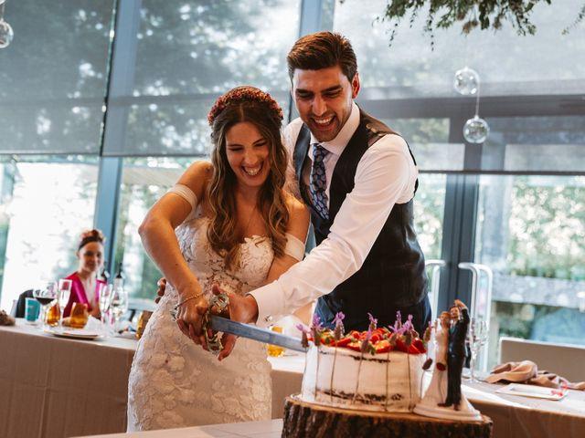 La boda de Gabriel y Alba en O Carballiño, Orense 107