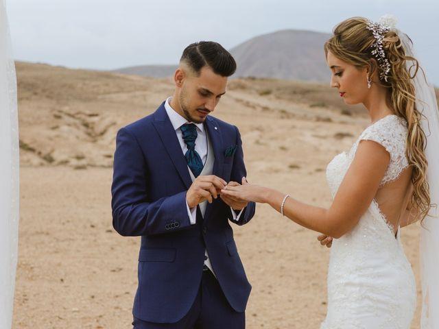 La boda de Víctor y Marta en La Oliva, Las Palmas 34