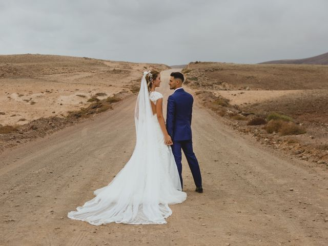 La boda de Víctor y Marta en La Oliva, Las Palmas 70