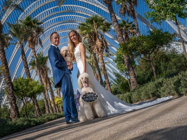 La boda de Iván y María en Alginet, Valencia 43
