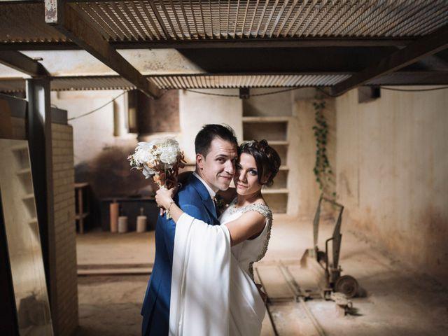La boda de Javi y Maria en Otero De Herreros, Segovia 77