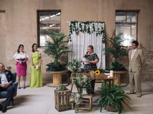 La boda de Javi y Maria en Otero De Herreros, Segovia 118