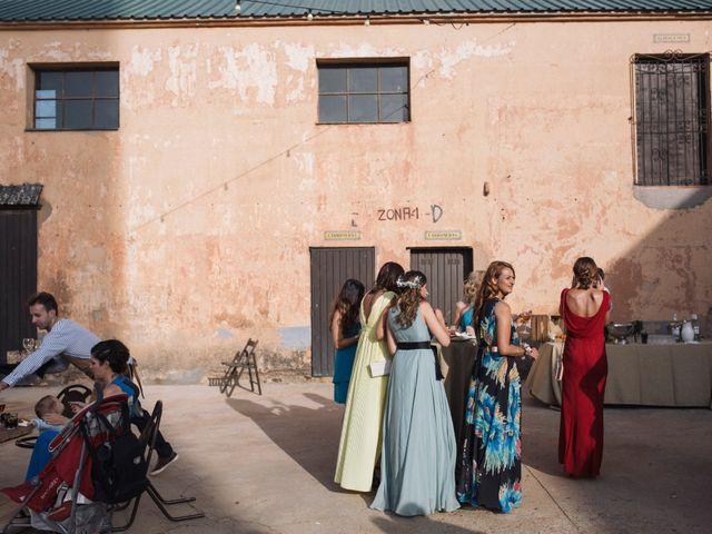 La boda de Javi y Maria en Otero De Herreros, Segovia 131