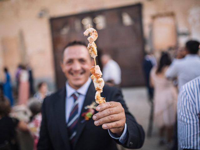 La boda de Javi y Maria en Otero De Herreros, Segovia 145