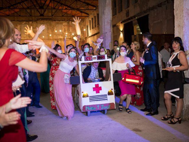 La boda de Javi y Maria en Otero De Herreros, Segovia 195