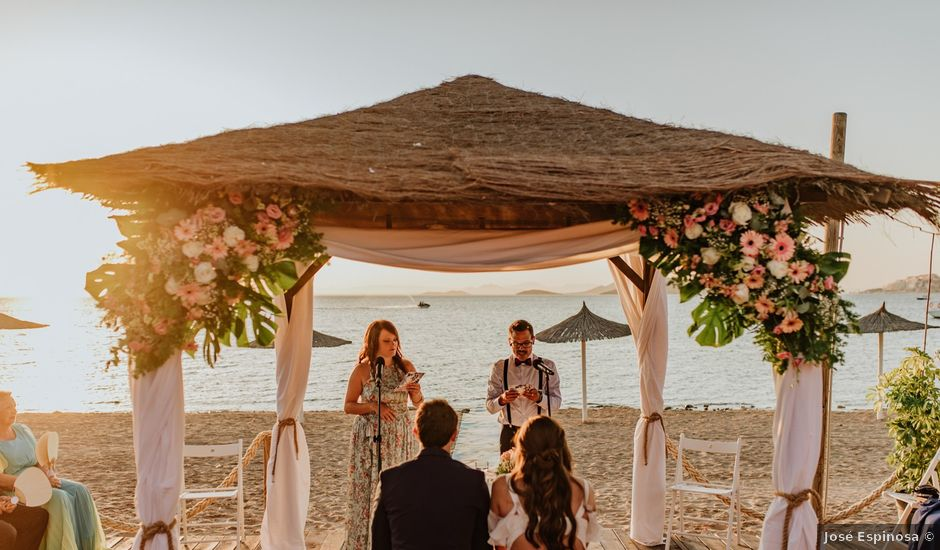 La boda de Joma y Mariu en La Manga Del Mar Menor, Murcia