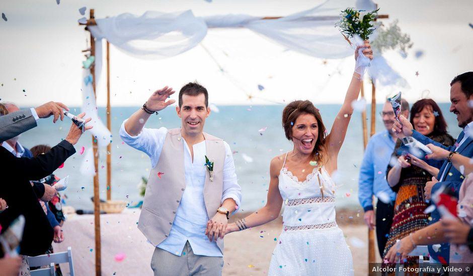 La boda de Nacho y Silvia en L' Ametlla De Mar, Tarragona
