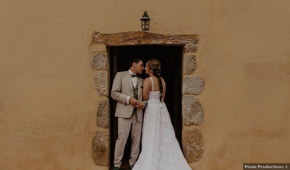 La boda de Albert y Jennifer en Sant Bartomeu Del Grau, Barcelona