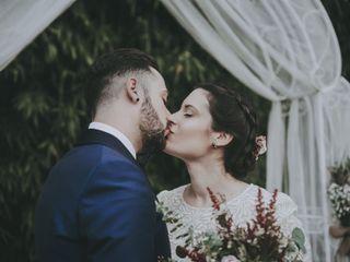 La boda de Edith y Adrià