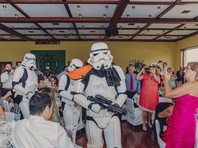 La boda de Borja y Iria en Laredo, Cantabria 93