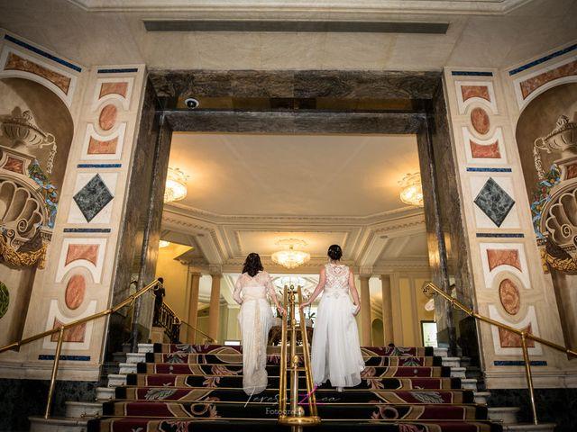 La boda de Ana Belén  y Mamen
