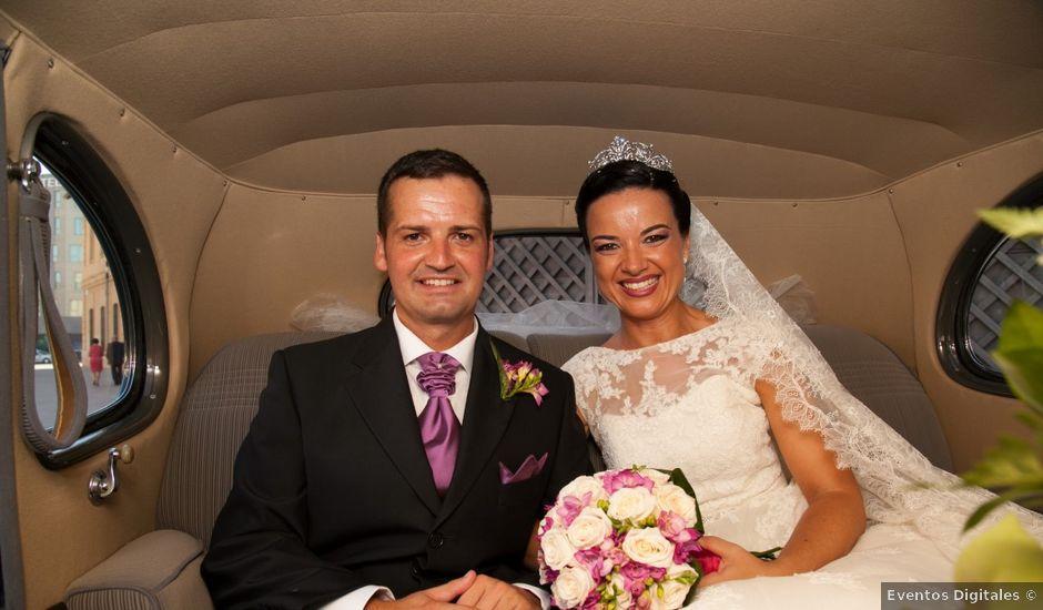 La boda de Javier y Rocío en Alhaurin El Grande, Málaga