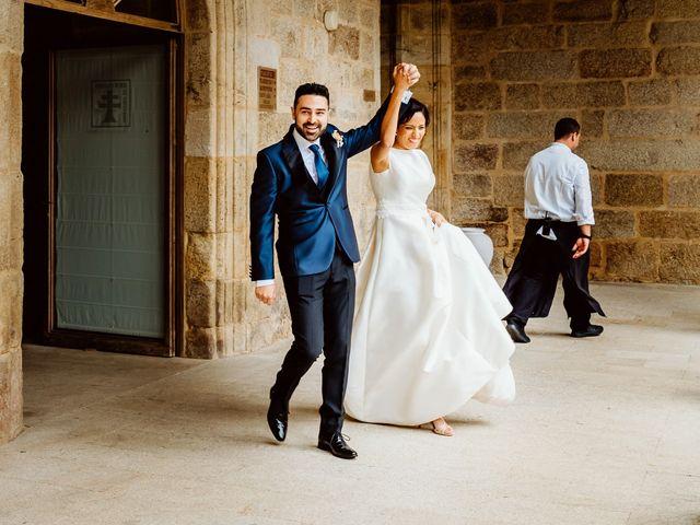 La boda de David y Patricia en Sa (Leiro), Orense 25