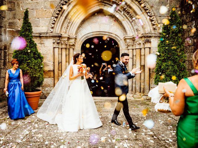 La boda de David y Patricia en Sa (Leiro), Orense 1