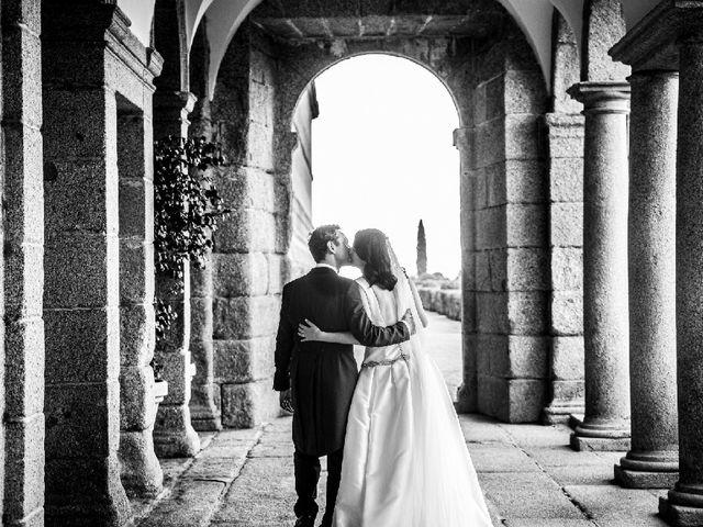 La boda de Thomas y Teresa en San Lorenzo De El Escorial, Madrid 1