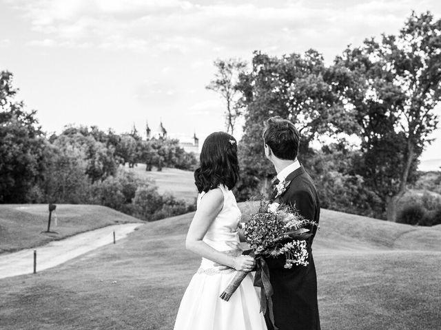 La boda de Thomas y Teresa en San Lorenzo De El Escorial, Madrid 2