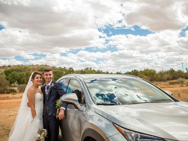 La boda de Alvaro y Irene en Galapagos, Guadalajara 35