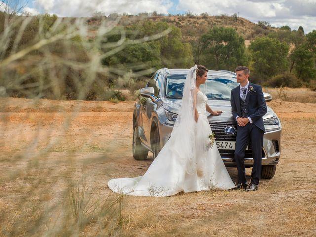 La boda de Alvaro y Irene en Galapagos, Guadalajara 36