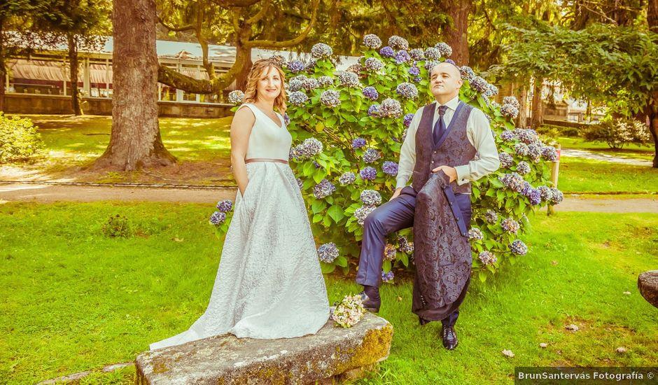 La boda de Lago y Raquel en Soutomaior, Pontevedra