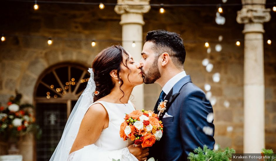 La boda de David y Patricia en Sa (Leiro), Orense