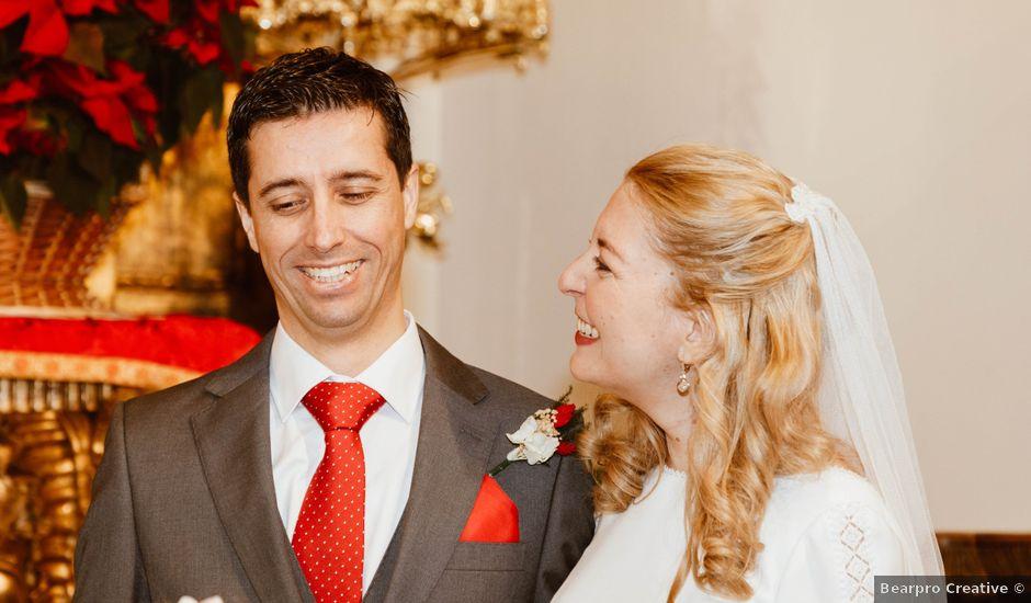 La boda de Fernando y Ariadna en Madrid, Madrid