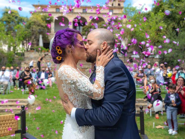 La boda de Virginia  y Jonathan