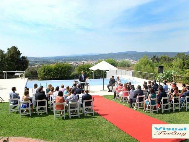 La boda de Oscar y Elena en Begur, Girona 2