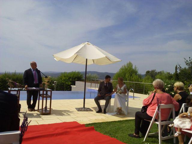 La boda de Oscar y Elena en Begur, Girona 3