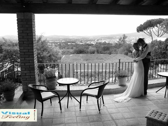 La boda de Oscar y Elena en Begur, Girona 1