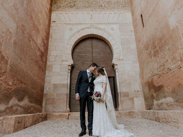 La boda de José y Mar en Granada, Granada 5