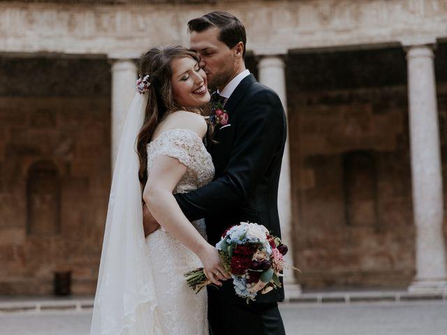 La boda de José y Mar en Granada, Granada 8