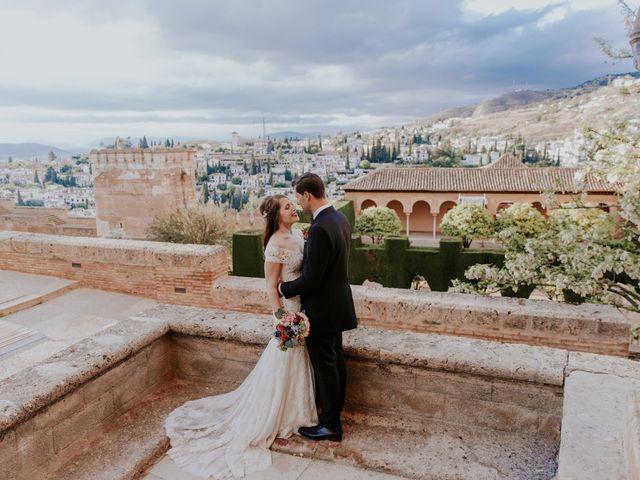 La boda de José y Mar en Granada, Granada 1