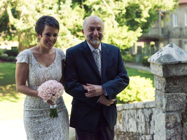 La boda de Jonathan y Lorena en Soutomaior, Pontevedra 29