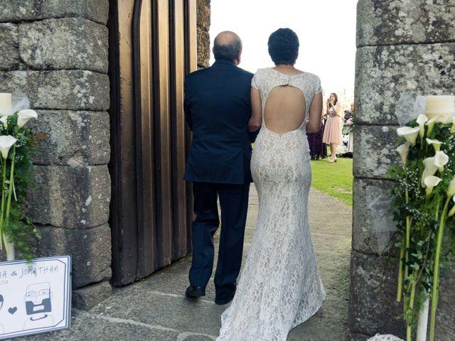 La boda de Jonathan y Lorena en Soutomaior, Pontevedra 31
