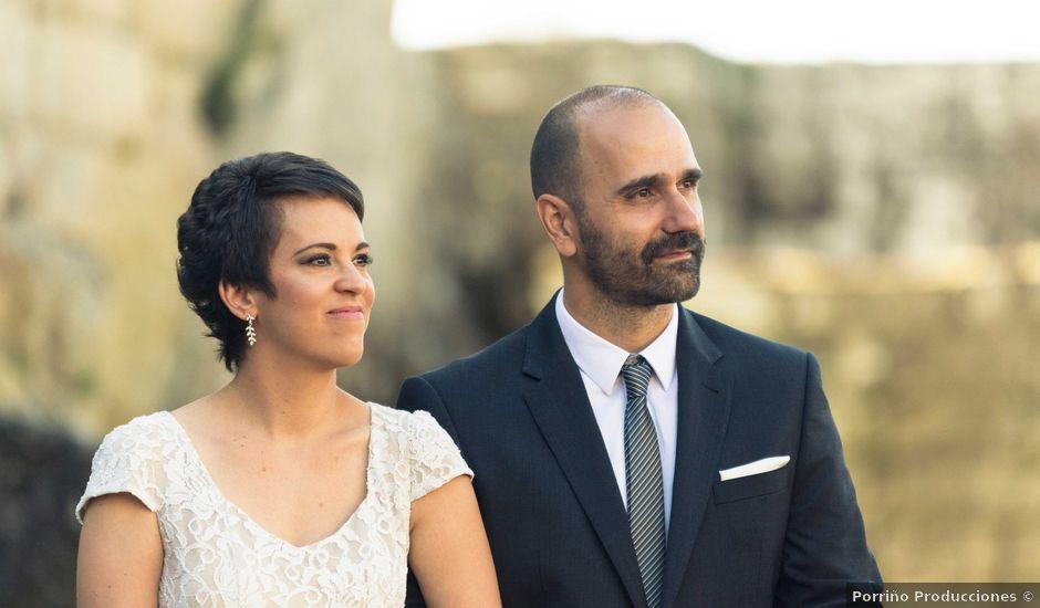 La boda de Jonathan y Lorena en Soutomaior, Pontevedra