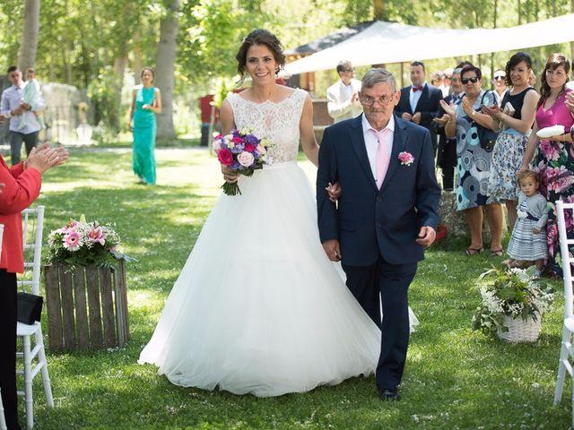 La boda de Sergio y Isa en Torquemada, Palencia 20