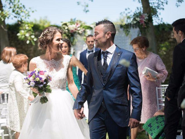 La boda de Sergio y Isa en Torquemada, Palencia 22