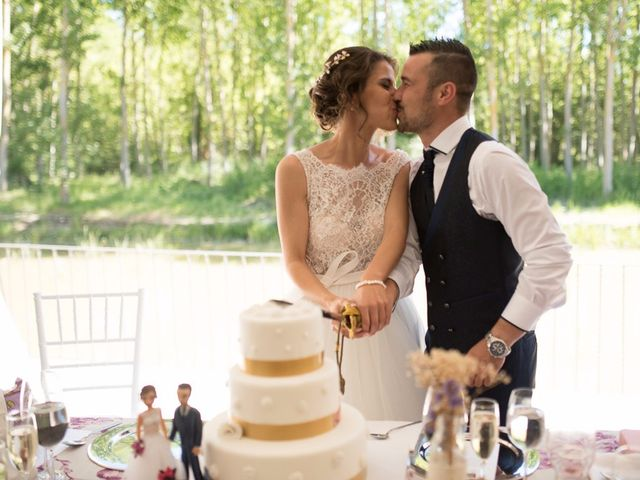 La boda de Sergio y Isa en Torquemada, Palencia 26