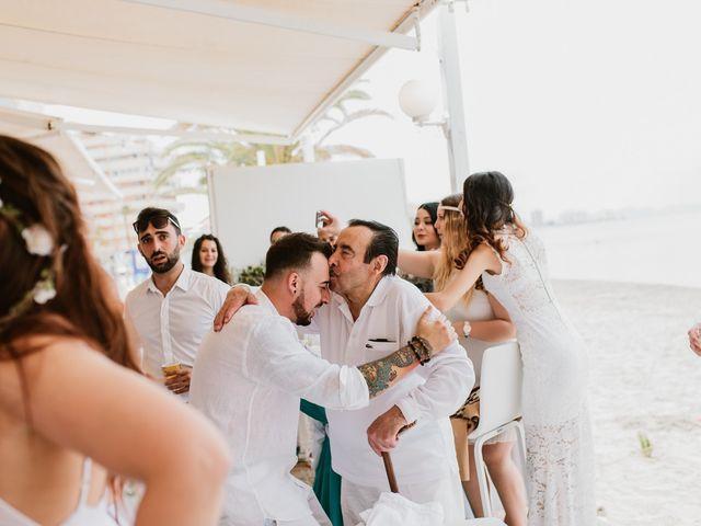 La boda de David y Alba en La Manga Del Mar Menor, Murcia 2